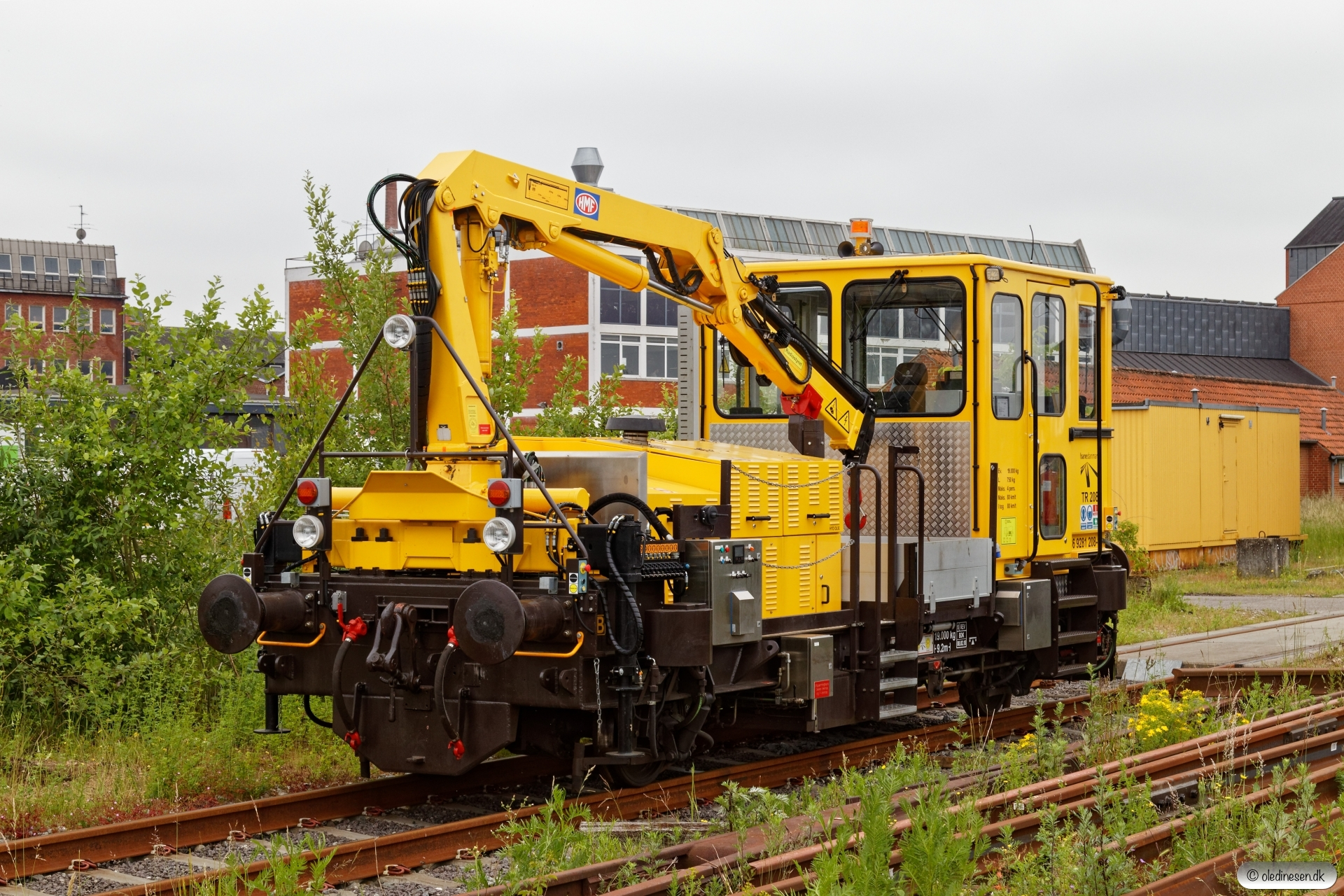 ENT 99 86 9281 208-9 (Trolje 208). Odense 13.06.2020.