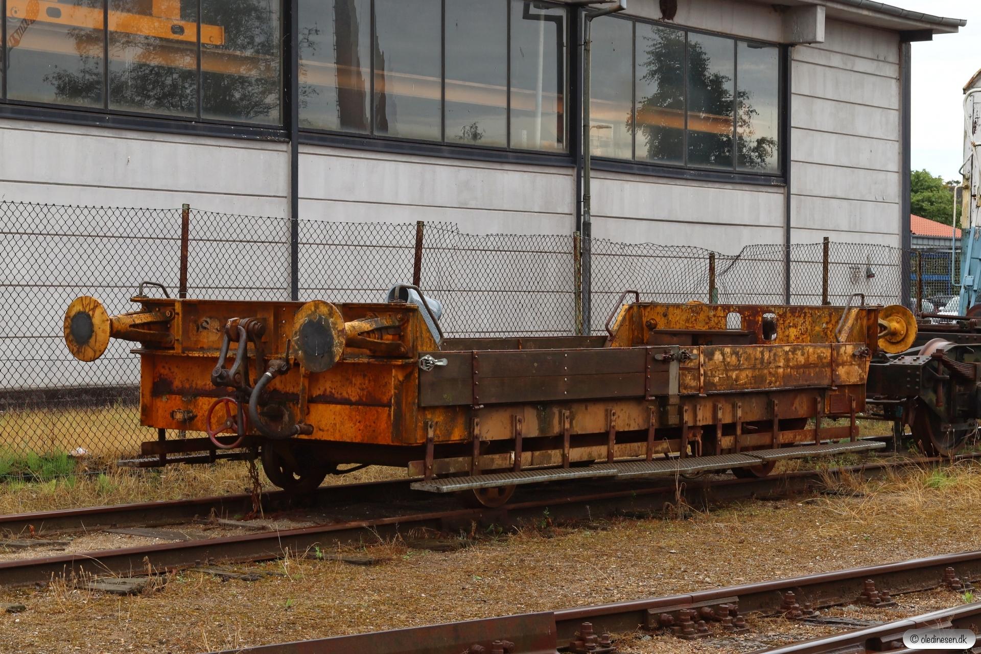 DSB Troljevogn 113a. Fåborg 26.07.2020.