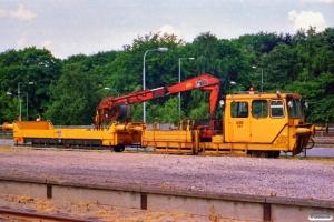 DSB Trolje 131+Troljevogn 110a. Hjørring 26.06.1988.