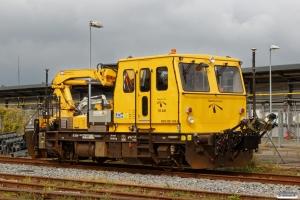 ENT 99 86 9281 409-3 (Trolje 409) udstyret med laserprofilskanner. Odense 01.09.2019.
