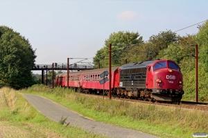 DSB MY 1159+B 188+Bk 016+A 000 som VP 6326 Tp-Od. Km 174,0 Kh (Holmstrup-Tommerup) 06.09.2014.