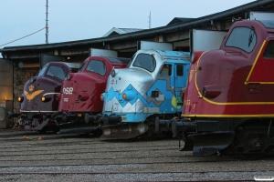 DSB MY 1101, MY 1112, MY 1126 og AMR MY 1155. Odense 06.09.2014.