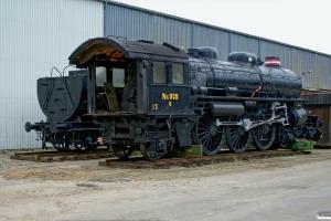DSB E 978. Fredericia 24.10.2007.