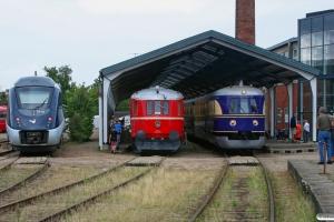 DSB MG 18, MS 402+AA 431+MS 401 og SVT 137 225. Odense 22.08.2010.