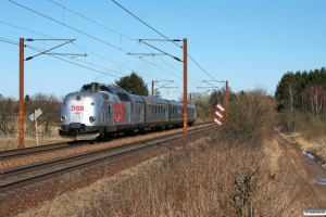 DSB MA 460+AM 500+BMk 530+BS 480 som VP 228007 Od-Tp. Km 171,6 Kh (Holmstrup-Tommerup) 01.04.2013.