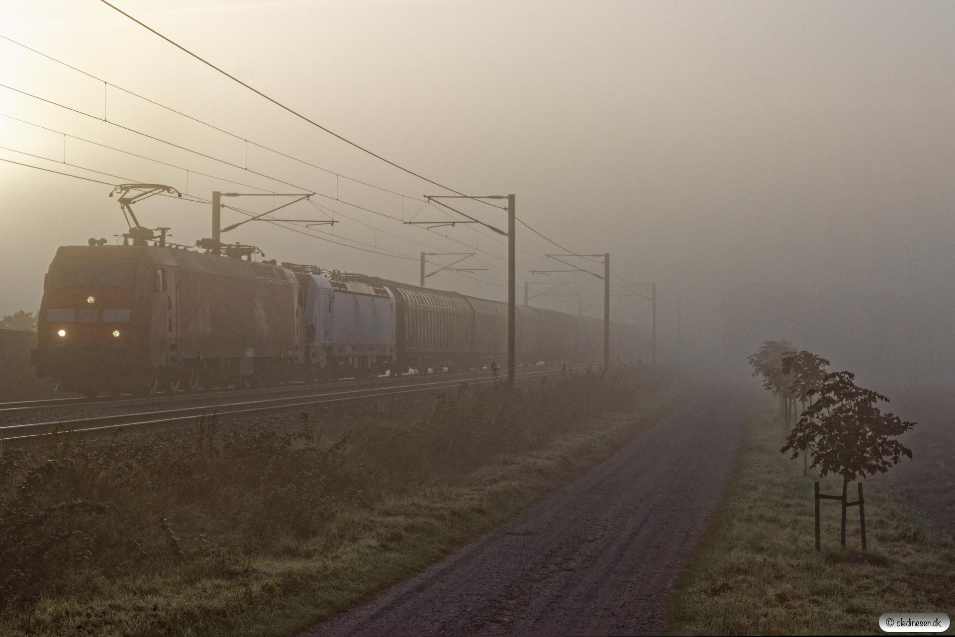 DBCSC EG 3110+HCTOR 243.221 med G 8093 Kø-Fa. Marslev 22.09.2019.