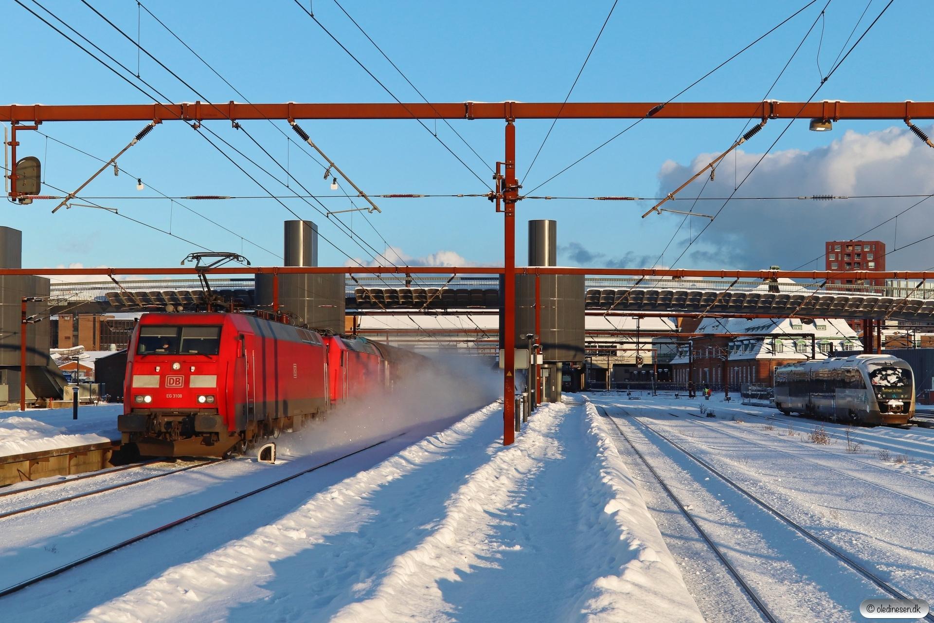 DBCSC EG 3108+DB 185 337-0 med GD 36821 Mgb-Pa. Odense 11.02.2021.