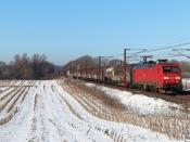 DBCSC EG 3108 med GD 44722 Pa-Mgb. Km 180,2 Kh (Skalbjerg-Bred) 13.02.2021.