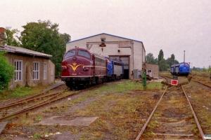 NEG V 170 1143+V 170 1131 og V 170 1151+V 170 1155. Haldensleben 11.08.2000.