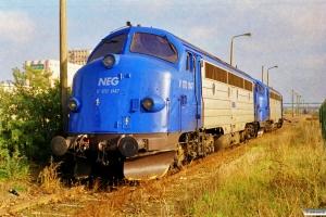 NEG V 170 1147+V 170 1155. Schwerin Wüstmark 28.10.1999.