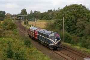 SRFL MY 1147+SRP MY 1148 som Tfzf 93652. Flensburg-Weiche 24.09.2011.