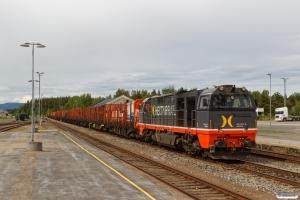 HCTOR 941.001 med Gt 41613 (Kongsvinger-Hamar). Elverum 15.06.2017.