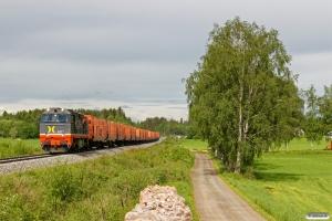 HCTOR 941.001 med Gt 41613 (Kongsvinger-Hamar). Elverum - Løten 15.06.2017.