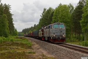 RCT TMZ 1405+NTA Ma 404 med EGt 8062 (Elverum-Kongsvinger). Elverum - Braskereidfoss 16.06.2017.