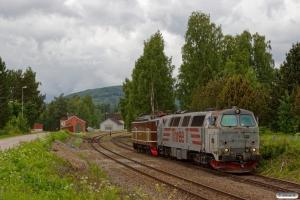 RCT TMZ 1405+NTA Ma 404 som EGt 8062 (Elverum-Kongsvinger). Flisa 16.06.2017.