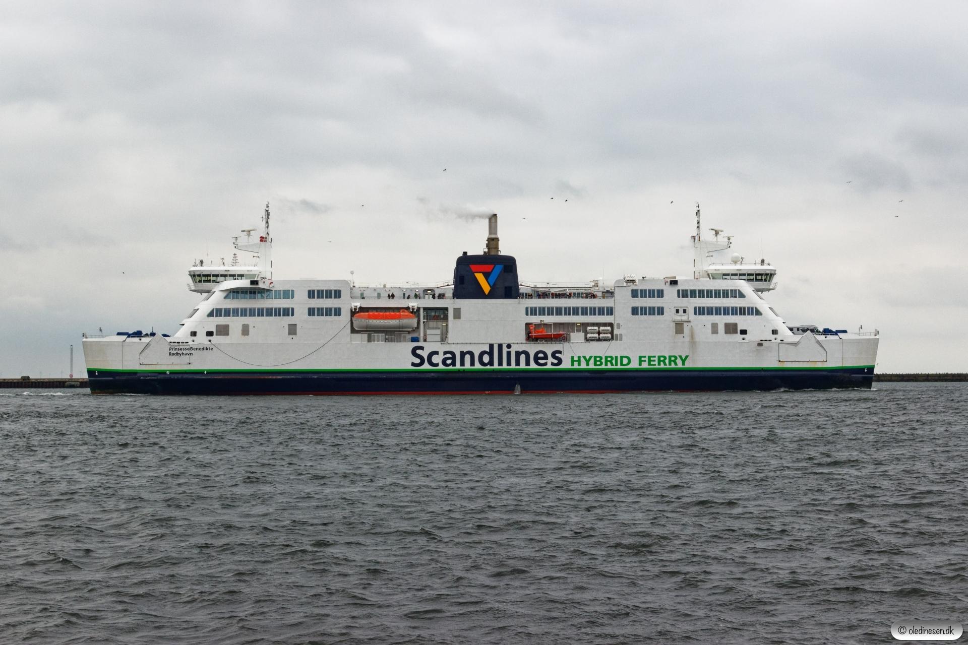 Prinsesse Benedikte. Rødby Færge 15.08.2019.