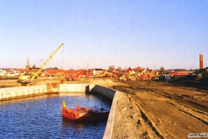 Nyborg Færge 29.12.1998.