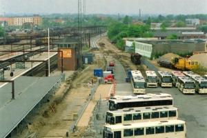 Anlæggelse af spor 8. Odense 18.05.2003.