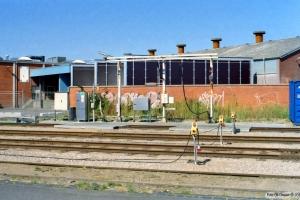 Det midlertidige forsyningsanlæg. Odense 24.08.2003.