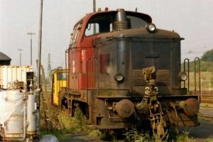 DSB MH 312. Flensburg 24.09.2005.
