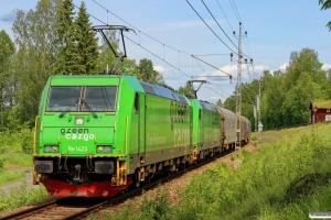 GC Re 1423+Re 1436 med GT 19183. Ställdalen - Kopparberg 13.06.2015.