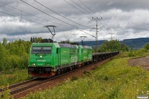 GC Re 1437+Re 1426 med GT 9103. Långsele - Helgum 19.06.2018.