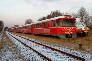 HHGB Ym 56 og DB 403 005-2. Meyenburg 19.12.2009.