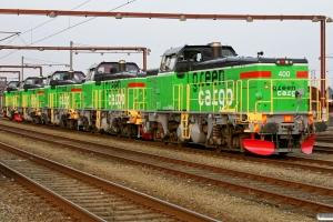 GC Td 400+Td 409+Td 410+Td 392+Td 408. Kolding 24.03.2010.