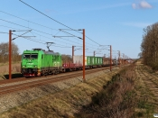 GC Br 5334 med NX 36565 Mgb-Pa. Km 50,2 Fa (Farris-Sommersted) 24.04.2021.