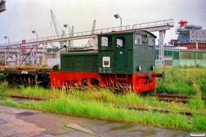 Flender Werft Lok 2 (Jung 12922/1957). Lübeck 12.08.1989.