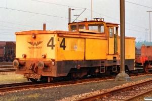 Hansaport Lok 4 (Windhoff). Hamburg-Altenwerder 11.05.1990.
