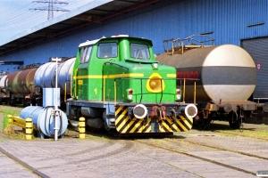 The Burmah Oil Lok 2 (Deutz 57880/1966). Hamburg-Neuhof 11.05.1990.