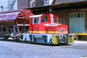 Silo P. Kruse Lok 1 (O&K 26771/1973). Hamburg-Wilhelmsburg 11.05.1990.