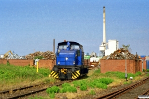 TSR Recycling Lok (Henschel 29971/1959). Bremen 20.06.2006.