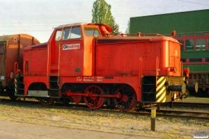 Oiltanking Lok 1 (Henschel 1956/28636). Hamburg Tiefstack 27.04.2007.