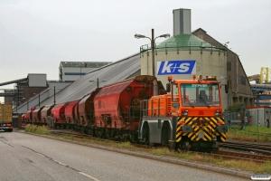 K+S Lok 3 (ZEPHIR 1970/2006). Hamburg-Hohe-Schaar 28.08.2012.