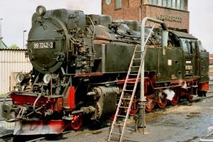 DR 99 7242-3. Wernigerode 18.05.1991.