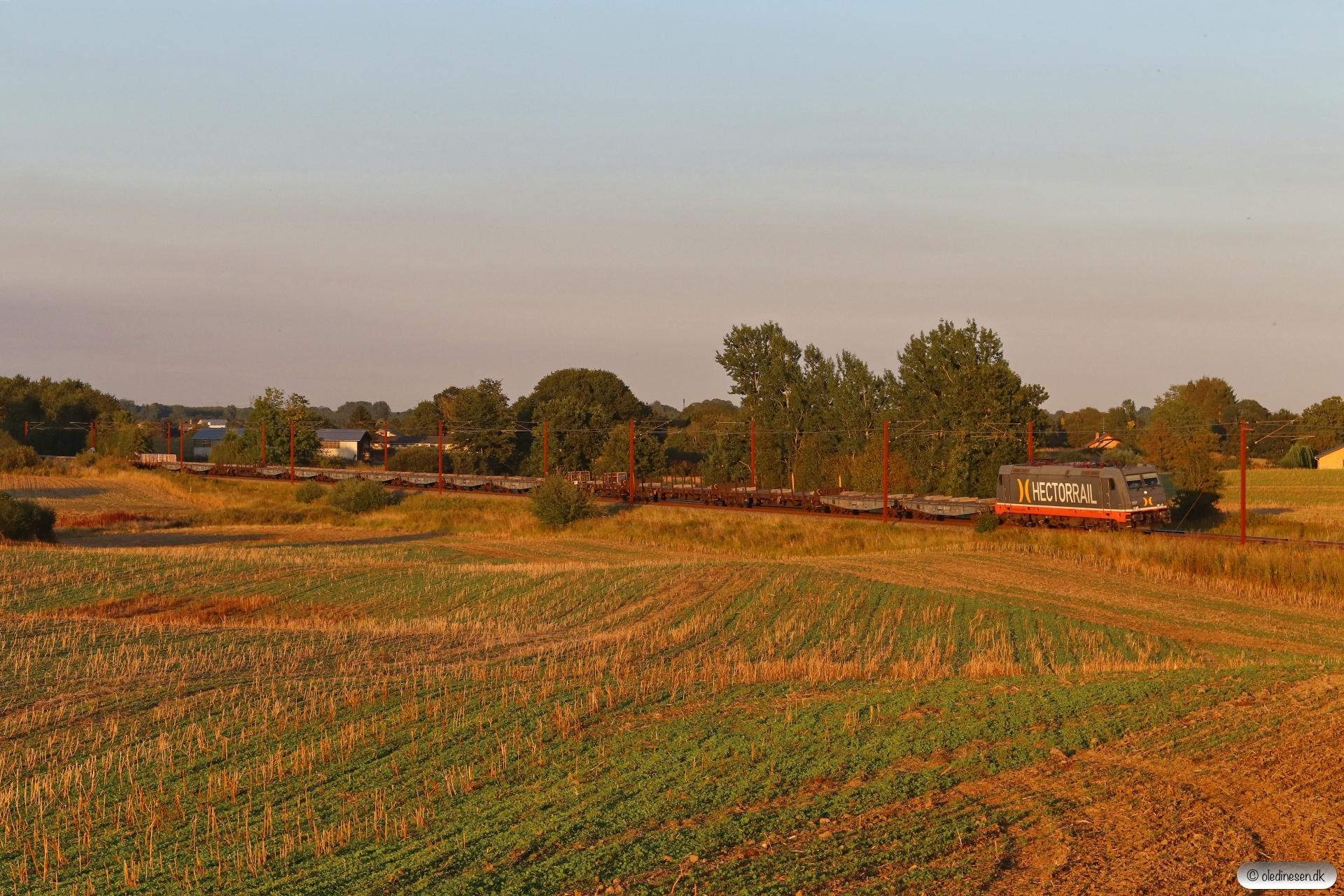 HCTOR 241.012 med HG 98093 Gl-Pa. Km 172,6 Kh (Holmstrup-Tommerup) 19.08.2020.