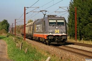 HCTOR 241.008 med HG 62396 Pa-Mgb. Km 155,4 Kh (Marslev-Odense) 30.09.2011.