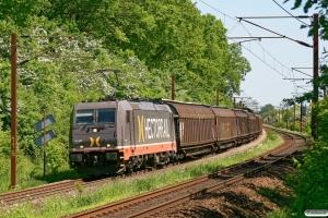 HCTOR 241.002 med HG 45681 Mgb-Pa. Km 165,8 Kh (Odense-Holmstrup) 24.05.2012.