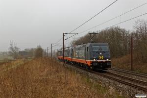 HCTOR 241.011+243.114+243.113 som HG 37896 Pa-Mgb. Km 167,0 Kh (Odense-Holmstrup) 15.04.2018.