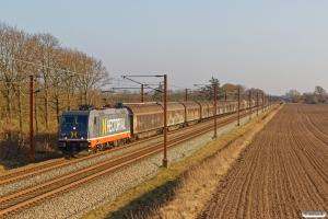 HCTOR 241.012 med HG 45684 Pa-Mgb. Km 52,4 Fa (Sommersted-Vojens) 05.04.2020.