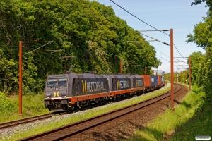 HCTOR 241.010+241.001+241.005 med HS 41041 Mgb-Pa. Km 165,6 Kh (Odense-Holmstrup) 02.06.2020.