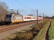 HCTOR 241.010+6 CH-TRAIN BDcm som HG 36988 Pa-Mgb. Km 57,4 Fa (Sommersted-Vojens) 24.04.2021.