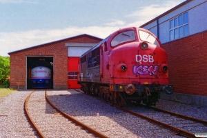 SB M 10 og SB MX 1007. Skagen 04.07.1995.