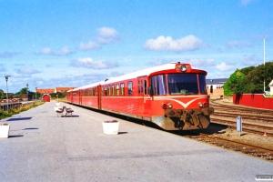 SB Ym 5+Yp 23+HHJ Yp 51+Ym 4. Skagen 02.09.1996.