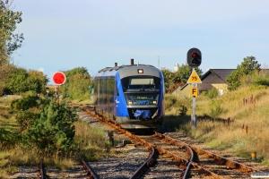 NJJ Dm 541+571 som Tog 16 Fh-Sgb. Skagen 25.09.2013.