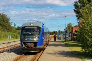 NJJ Dm 578+548 som Tog 141017 Sgb-Fh. Ålbæk 16.08.2016.