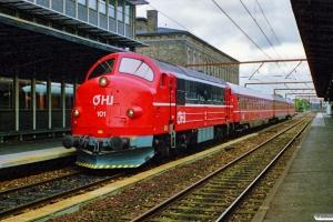 OHJ MX 101+Bm 282+Bn 72+Bne 281 som P 4031 Kh-Nks. Roskilde 07.07.1990.