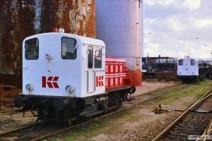 Kommunekemi Traktor 125 og 124. Nyborg 25.03.1989.